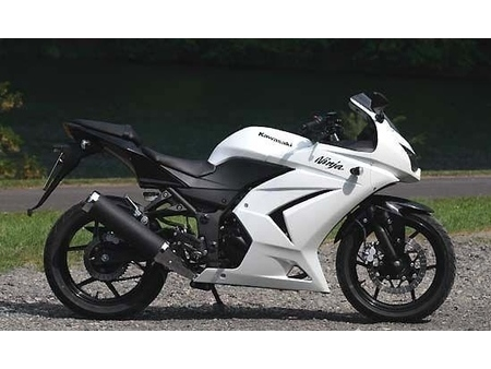 kawasaki ninja 250 2012 gebraucht motorrad kaufen. Black Bedroom Furniture Sets. Home Design Ideas