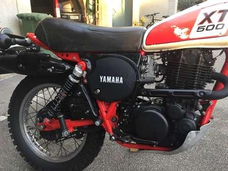 yamaha oldtimer xt 500 in super zustand occasion le parking. Black Bedroom Furniture Sets. Home Design Ideas