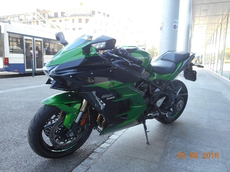 Kawasaki Kawasaki Ninja H2 Sx Abs Occasions Used The Parking
