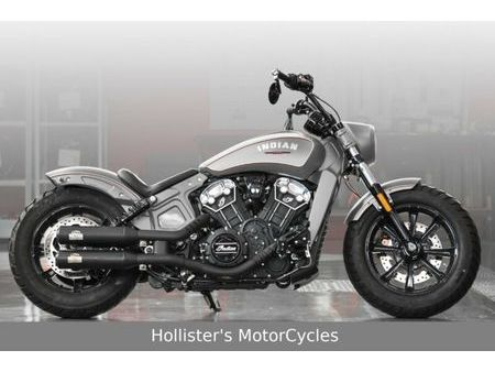 INDIAN INDIAN SCOUT BOBBER CUSTOM *HOLLISTER'S* Used - the ...