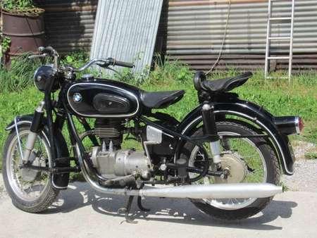 Schönes Oldtimer Motorrad BMW R26, 250 ccm, Jg 1960